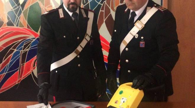 defibrillatore rubato CC Isernia