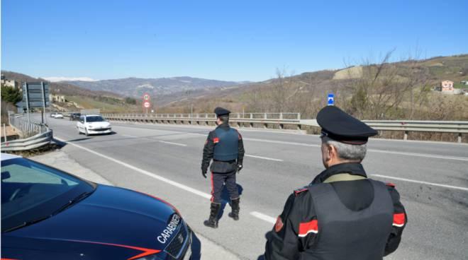 Carabinieri Campobasso strade