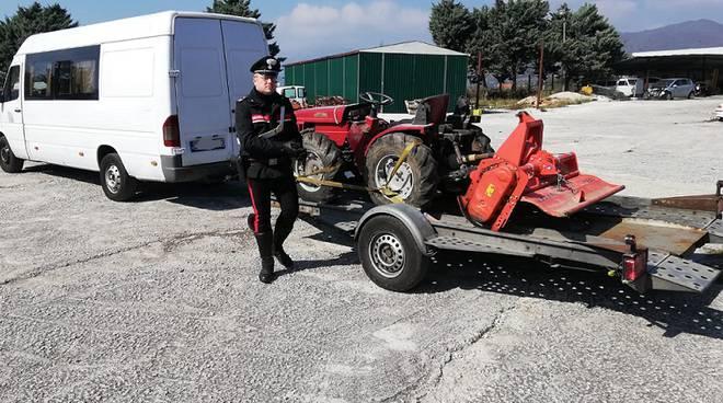 trattore Carabinieri Isernia