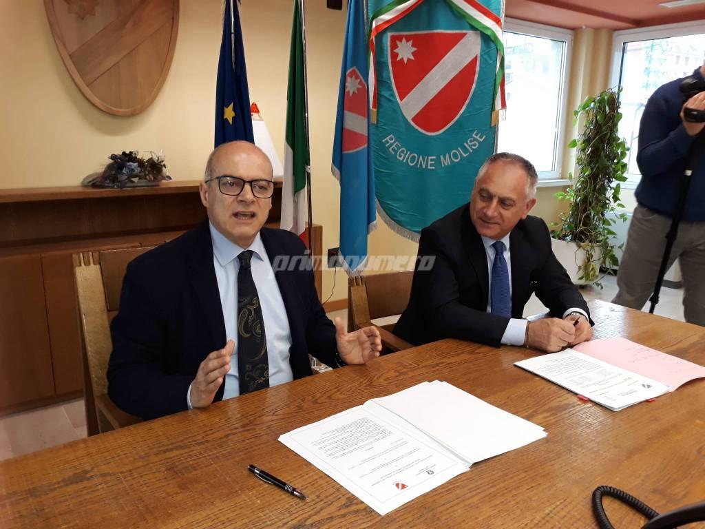 Donato Toma e Vincenzo Niro Regione Molise