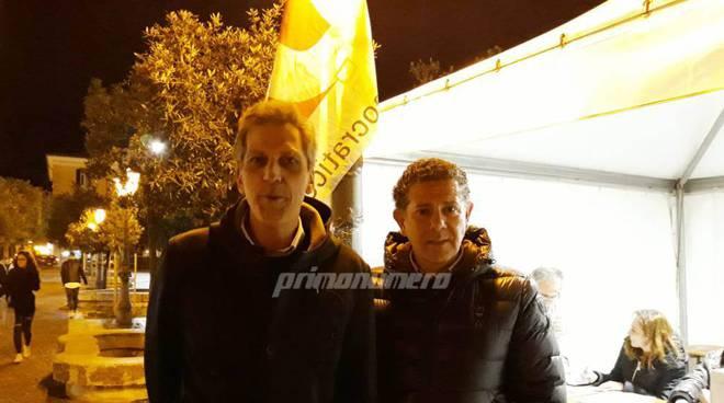 Michele Durante e Lello Bucci primarie 2019 Campobasso