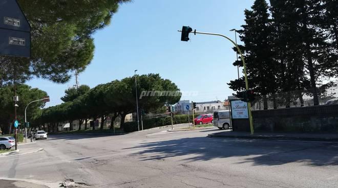 Semaforo Piazza del Papa