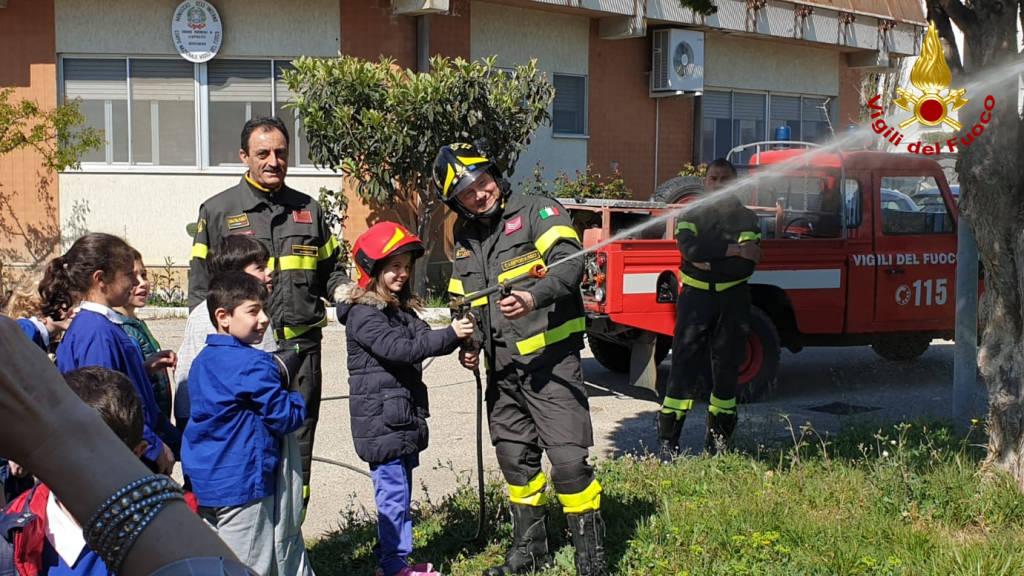 visita caserma vigili del fuoco
