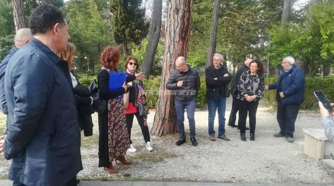 conferenza stampa villa de capoa