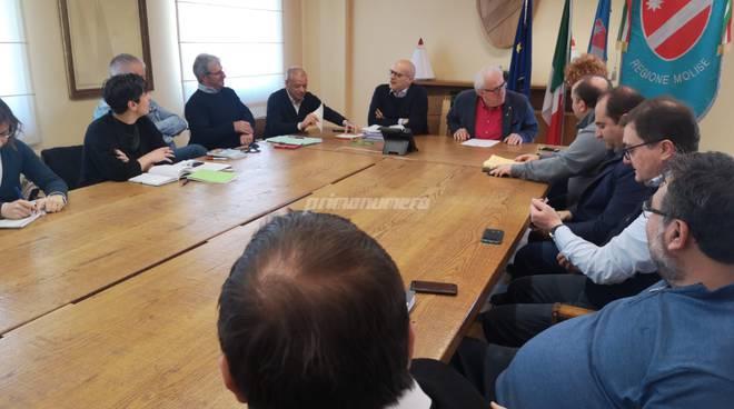 Gam riunione in Regione Toma Mazzuto