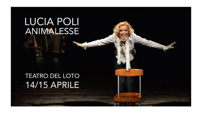 Lucia Poli al Teatro del Loto