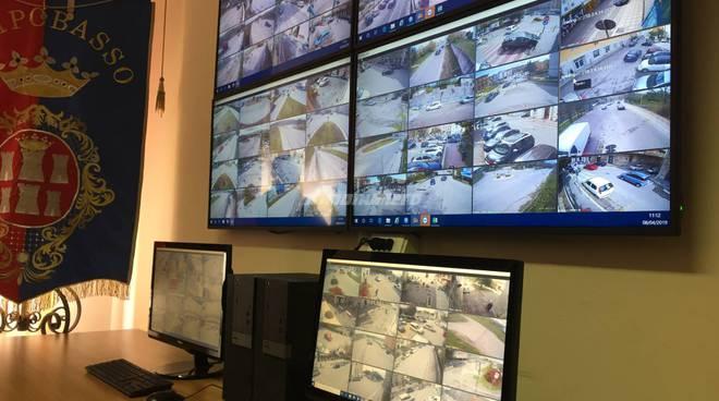 videosorveglianza telecamere sala operativa