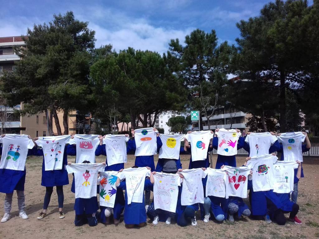 magliette corsa solidale Caritas