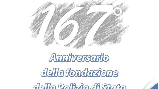 167 anniversario Polizia di Stato