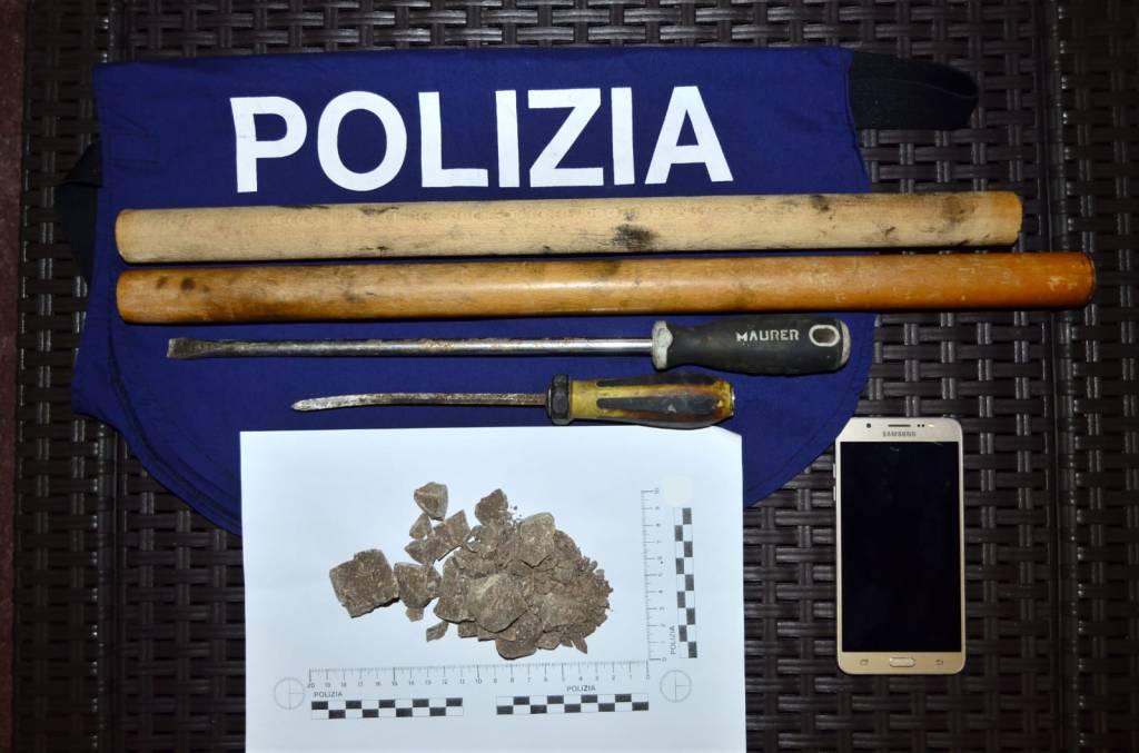 eroina Polizia