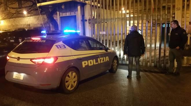 Polizia carcere Campobasso notte