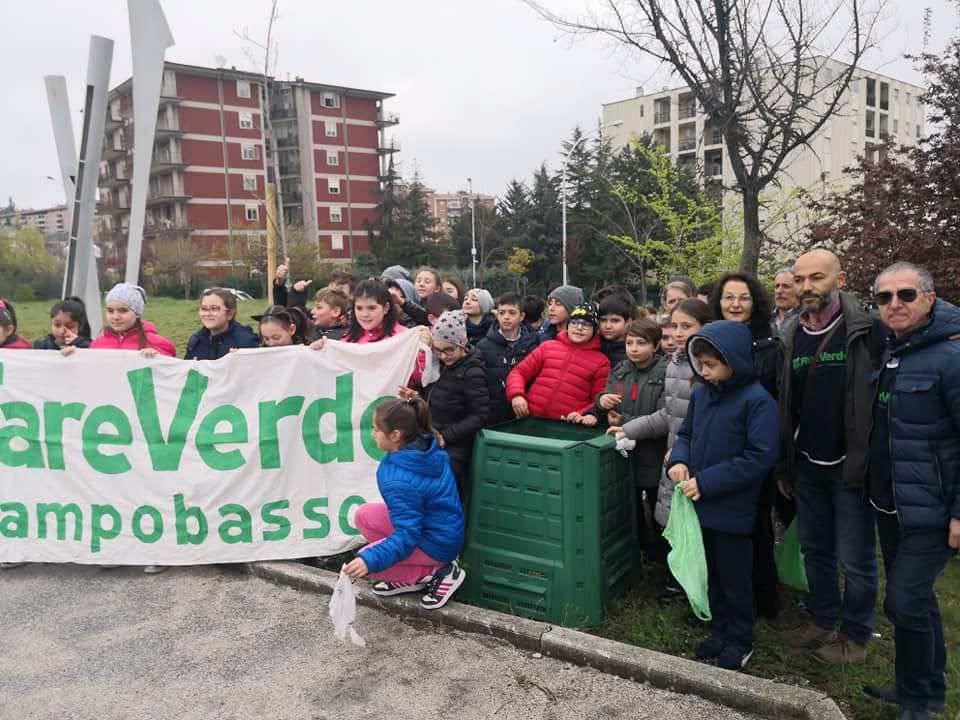 compostiera scuola Jovine Campobasso