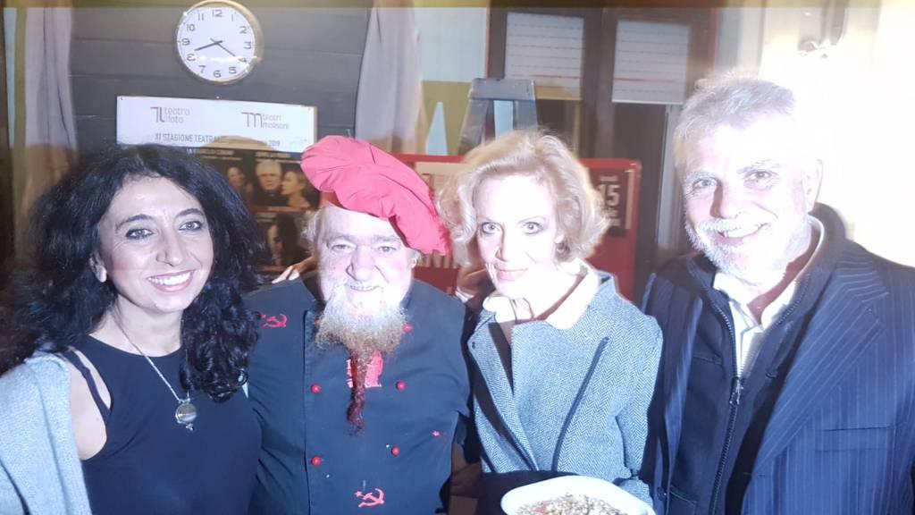 Lucia Poli, Sabelli e Bobo