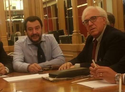 Salvini e Mazzuto Lega Molise