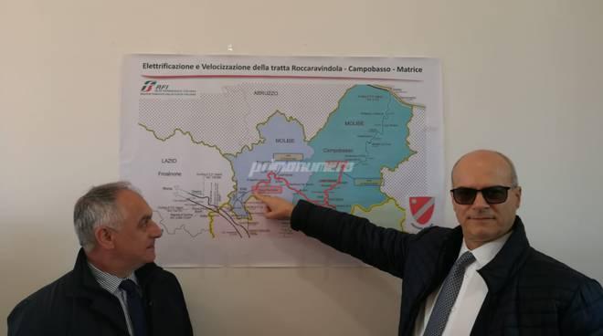 Donato Toma e Vincenzo Niro treni
