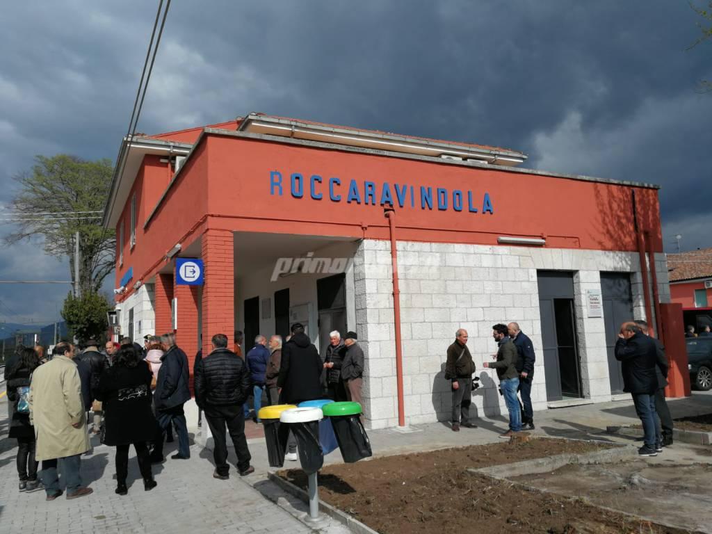Ferrovia treni stazione Roccaravindola