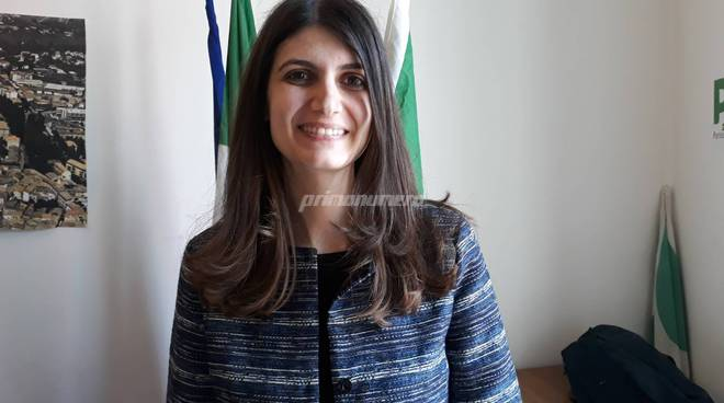 Caterina Cerroni candidata Europee Pd