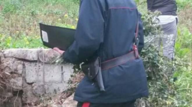 suicidio pozzo carabinieri