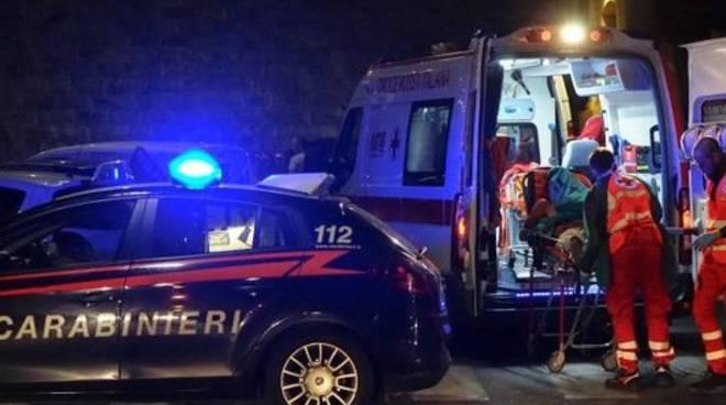 carabinieri incidente isernia