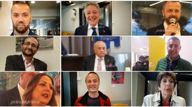Collage consiglieri comunali 2019