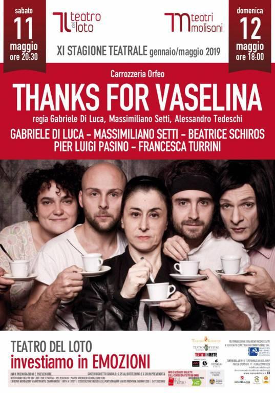 Thanks for vaselina al Loto