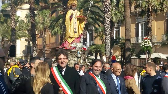 Bellotti al pellegrinaggio a Bari
