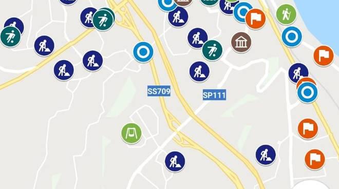 Mappa interattiva Termoli Sbrocca