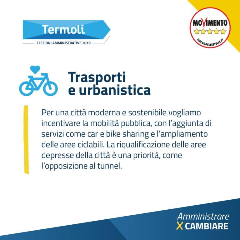 Trasporti e Urbanistica M5S Termoli