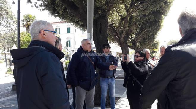 Proteste lavori corso Umberto