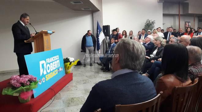 Roberti presentazione candidato sindaco centrodestra