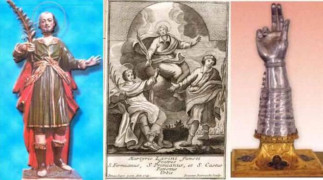 Santi Primiano, Firmiano e Casto