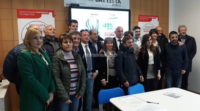 lista sinistra Campobasso elezioni 2019