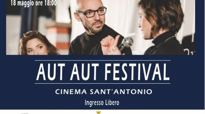 Matteo Vicino all'Aut aut festival