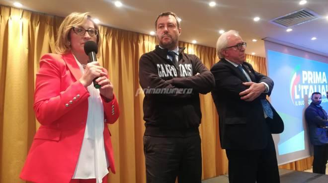 Salvini, Maria domenica d'alessandro e Mazzuto