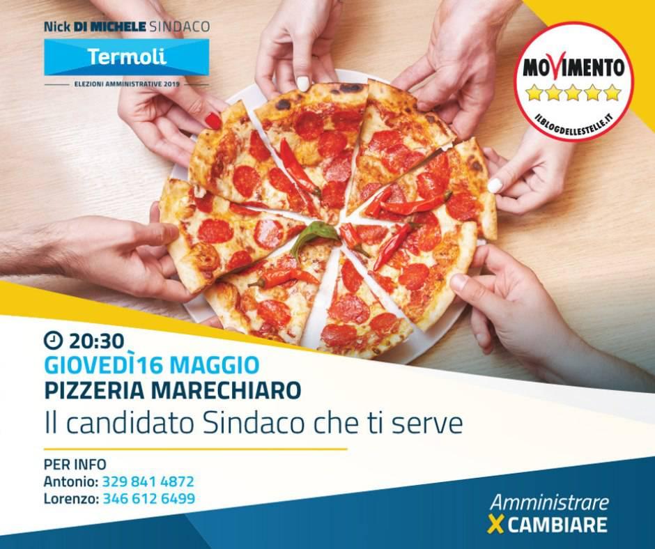 Cena col M5S Termoli