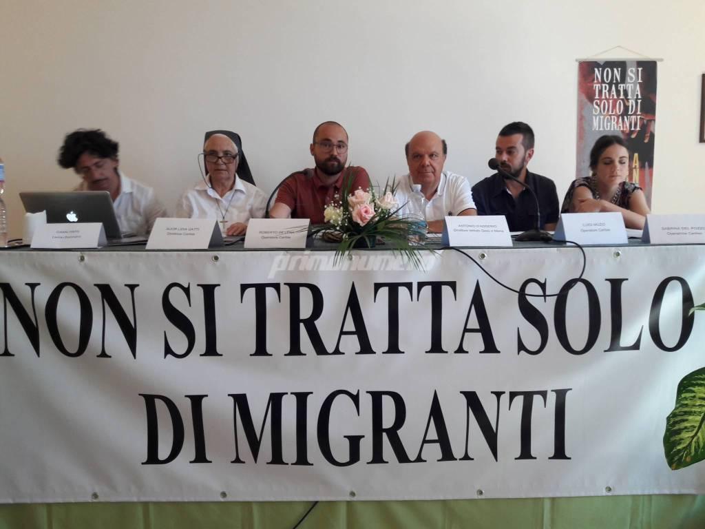 Giornata del rifugiato caritas Termoli De lena