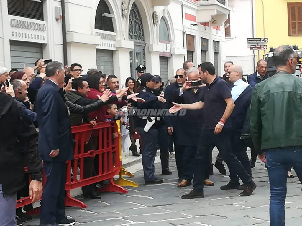 Salvini a Campobasso 1 giugno 2019