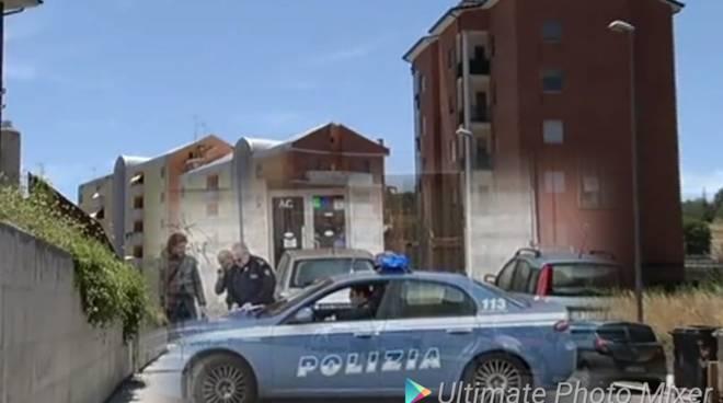 polizia in via quircio