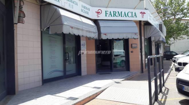Rapina farmacia Trabocchi via Tevere
