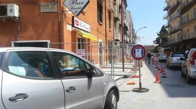 lavori marciapiedi Campobasso