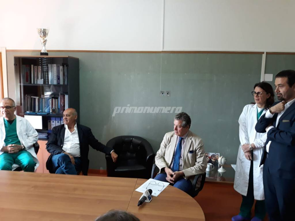 Giustini Iorio Colavita Flocco ospedale Cardarelli
