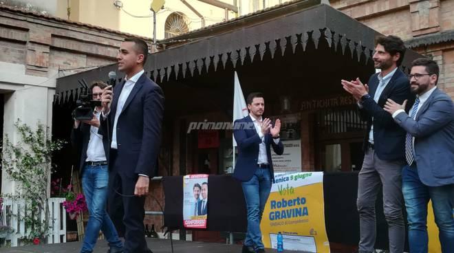 Luigi Di Maio Roberto Gravina M5S Campobasso