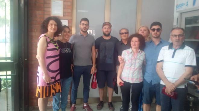 Dirigente e studenti Alfano