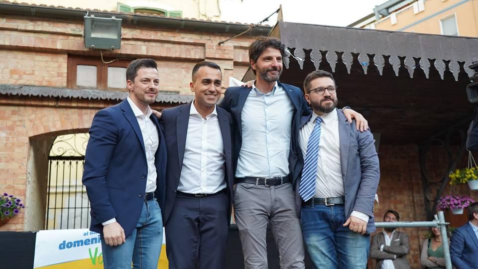 Greco Di Maio Gravina Federico M5S Campobasso