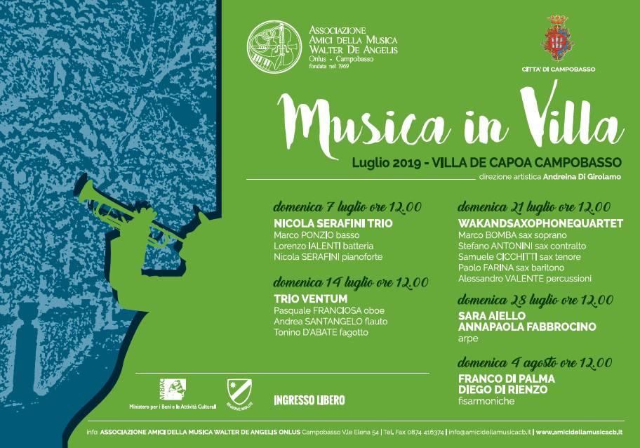 Musica in Villa a Cb