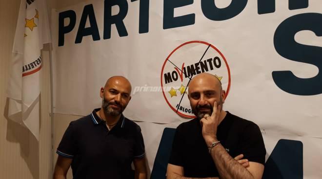 Cretella e Praitano M5S Campobasso