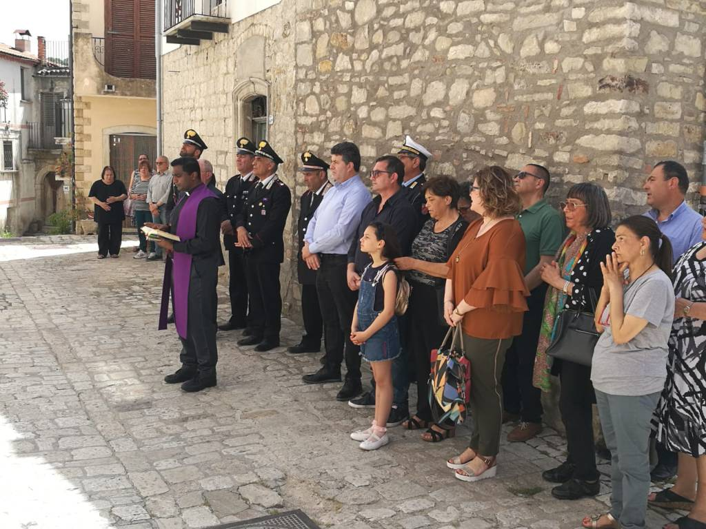 Commemorazione Carabiniere a Lucito