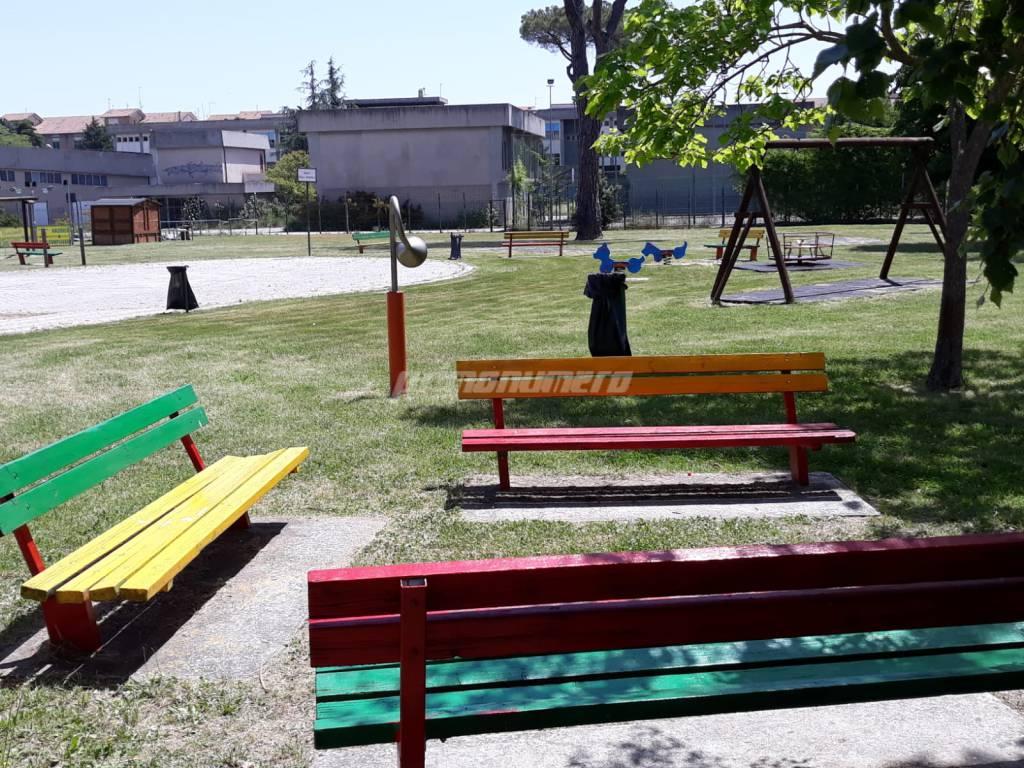 parco della memoria Campobasso