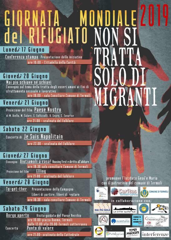 Iniziative Giornata rifugiato Termoli