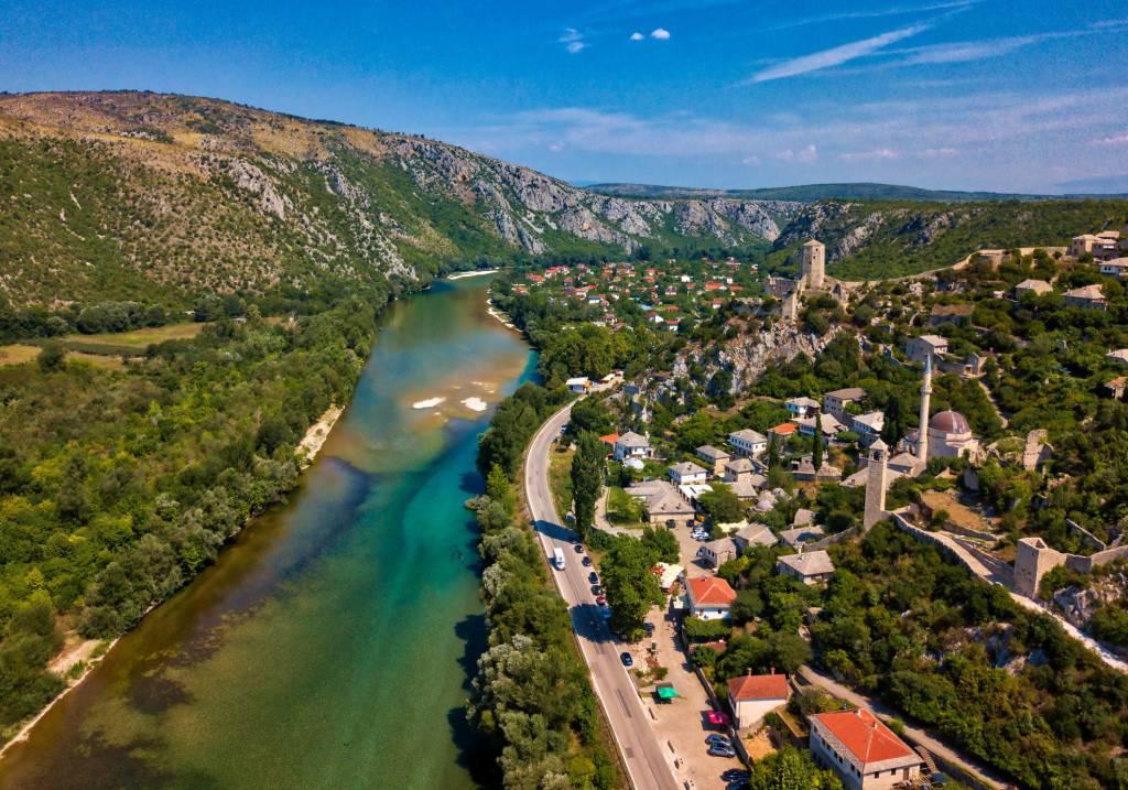 fiume in Bosnia